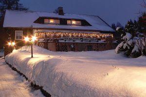 3_winterliche_Abendansicht_Waldterrasse